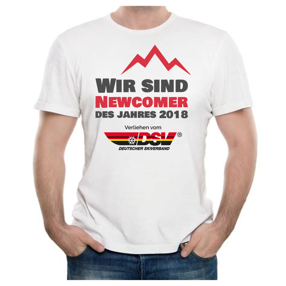 T-Shirt Newcomer 2018